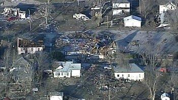 Harveyville, Kan. Storm Damage