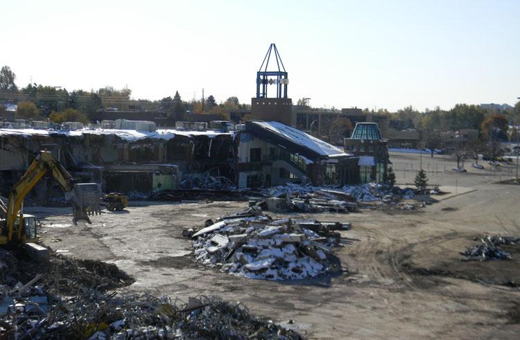 Tamarac Square demolition - Photo courtesy: panaramio.com