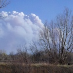 Lower North Fork Fire, March 26, 2012