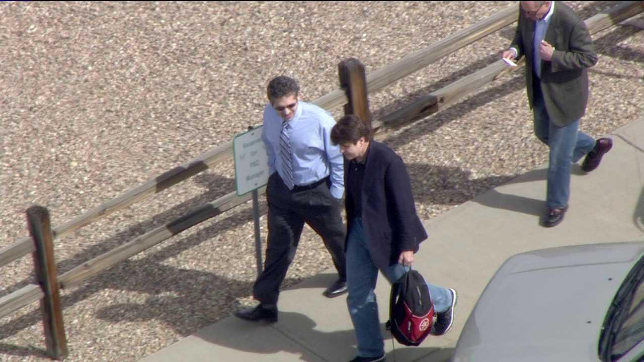 Former Illinois Gov. Rod Blagojevich arrives in Colorado
