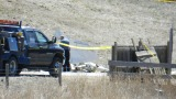 Hwy. 119 & Weld County Rd. 1 crash site. Photo: Jacqueline Roberts. March 23, 2012