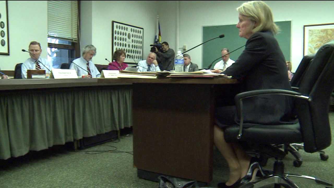 Foreclosure bill hearing at Colorado Capitol