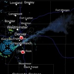 Smoke from Lower North Fork Fire streams into northeastern Colo. on radar