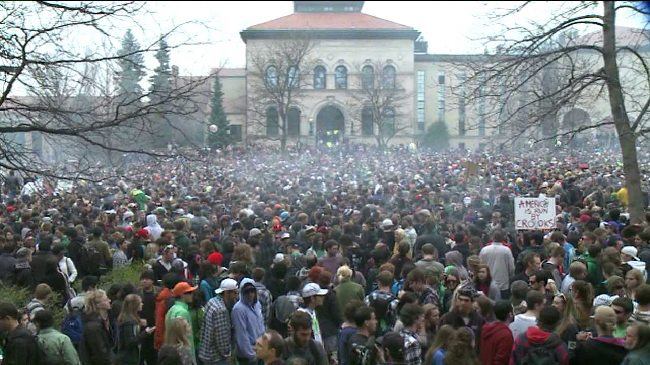 The 4/20 pot fest has drawn at least 10,000 people in recent years.