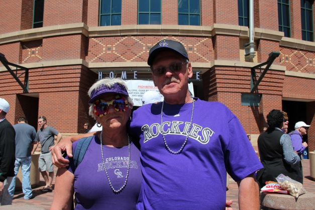 Rockies Opening Day. April 9, 2012