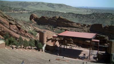 Red Rocks Amphitheatre. April 6, 2012.
