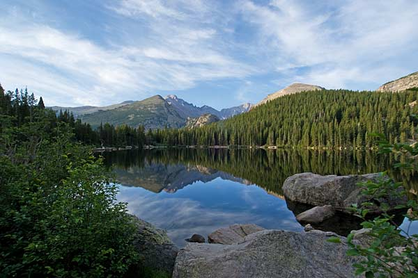 Bear Lake in Rocky Mountain National Park, Colo.