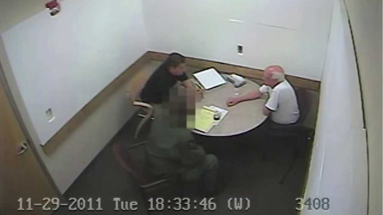 Patrick Sullivan Confession. Video image: Arapahoe County Sheriff's Office