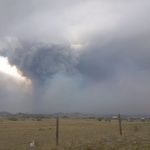 Hewlett Fire, May 16, 2012. Photo by: Scott Mohr