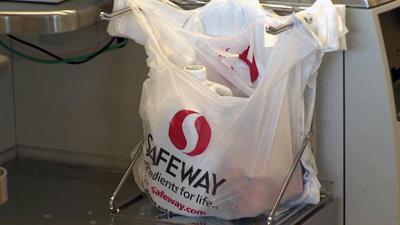 Plastic Safeway Grocery Bag