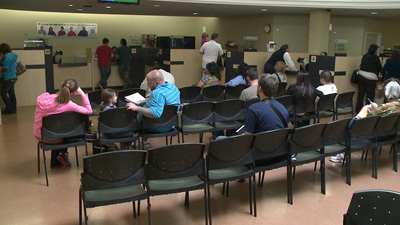 DMV Office. Undated photo
