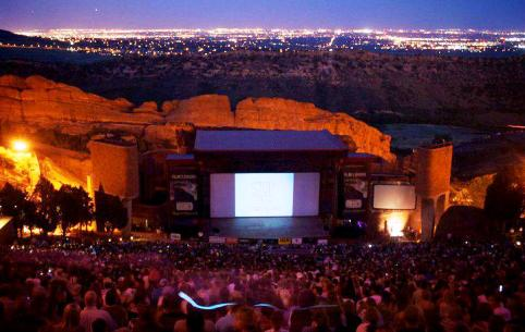 Film on the Rocks at Red Rocks Amphitheater in Denver