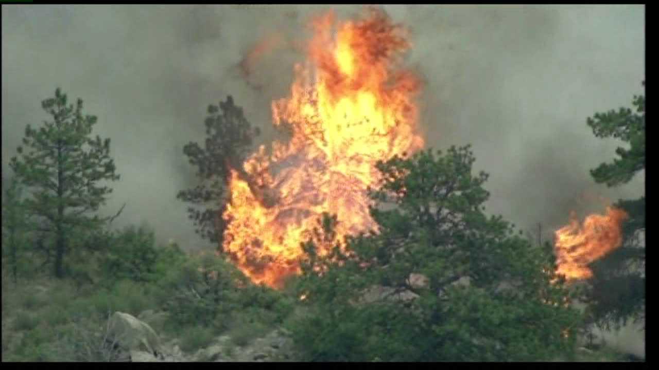 Hewlett Fire. May 18, 2012.