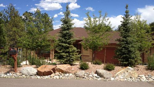 Chris Andersen's home in Larkspur, Colorado. May 10, 2012.