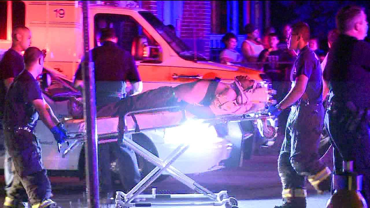 Denver police officer injured in crash. May 1, 2012