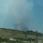 Hewlett Fire. May 14, 2012.
