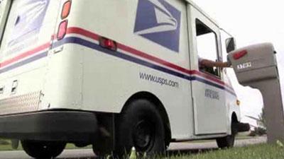 U.S. Postal Service Delivery Truck