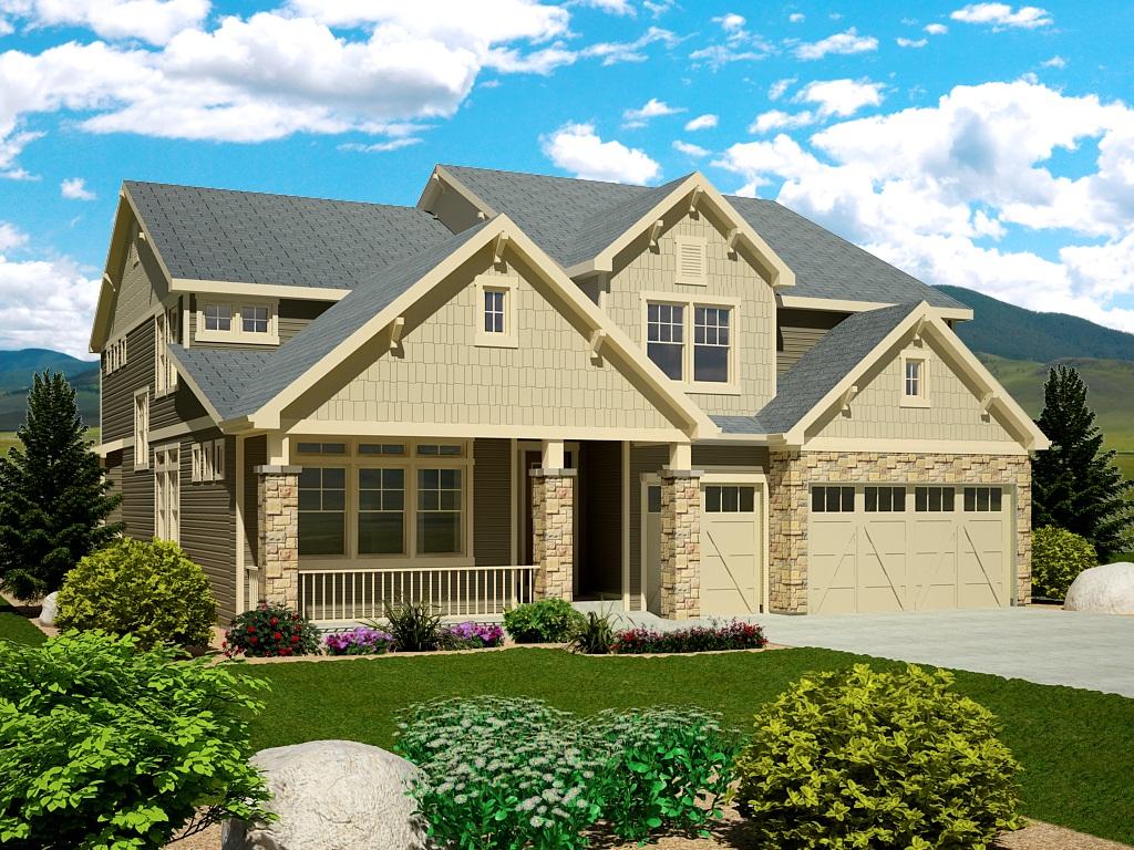 2012 St. Jude Dream Home rendering
