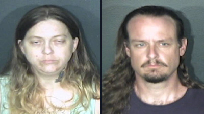 Belinda Wells-Yates, left, and Shane Garrett. (Photo: El Paso County Sheriff's Office)