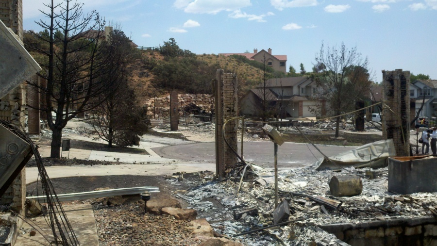 A July 2, 2012 tour of the Waldo Canyon Fire area.