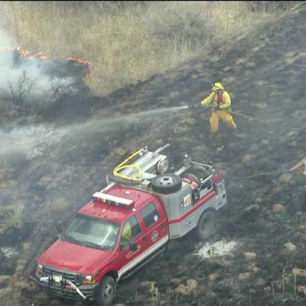 Littleton Grass Fire. July 5, 2012.