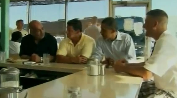 President Barack Obama has breakfast at Ann's Place in Akron, Ohio. July 6, 2012
