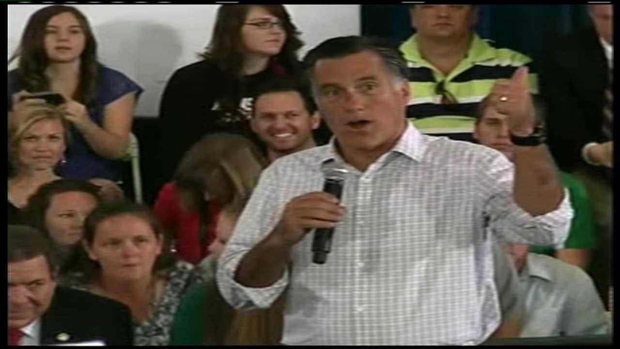 Mitt Romney visits Grand Junction, July 10, 2012.