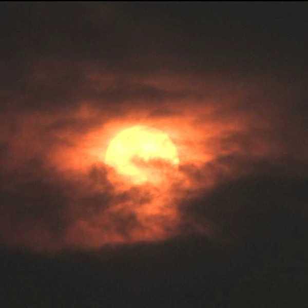 Denver sunset July 4, 2012