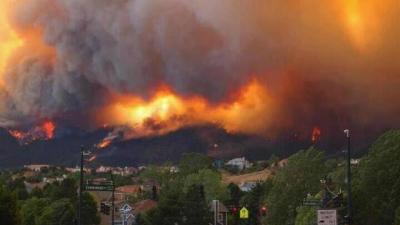 Waldo Canyon Fire. June 26, 2012
