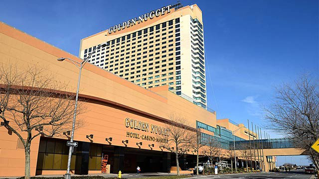 The Golden Nugget Casino in Atlantic City, N.J.