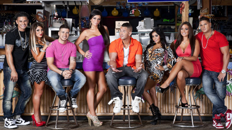 """The whole cast of the """"Jersey Shore,"""" which will begin its final season on Oct. 4."""