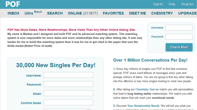 Check email dating sites