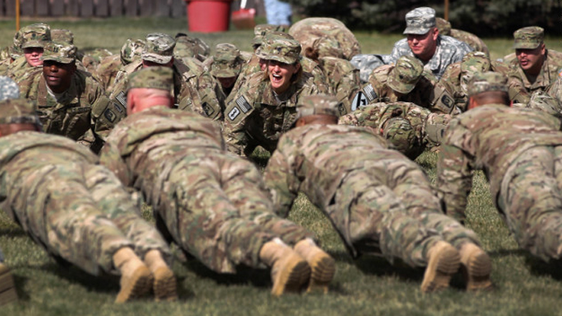 One in four young adults are too overweight to join the U.S. military, a group of retired military leaders says. (CNN)