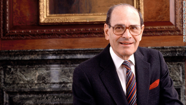 Arthur Ochs Sulzberger, publisher of The New York Times from 1963 to 1992, died at age 86 (CNN)