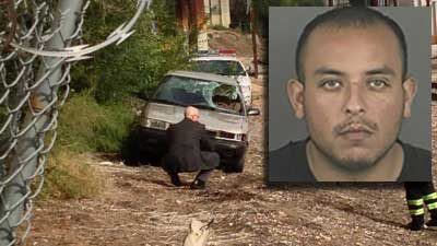 Dennis Esquibel suspected of driving car in deadly hit-and-run on S. Broadway. Sept. 27, 2012