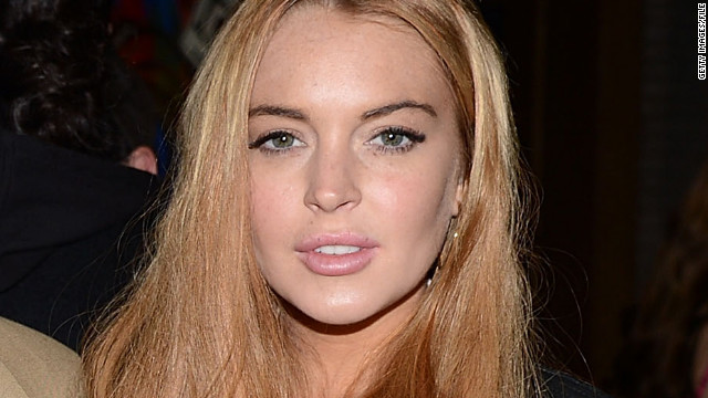 Lindsay Lohan is checking into the Betty Ford clinic.(Getty Images/CNN)