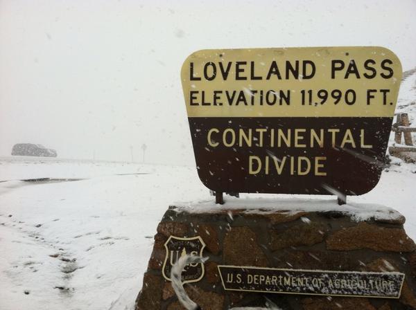 Loveland Pass, Colo. Photo: Daryl Orr Sept. 25, 2012