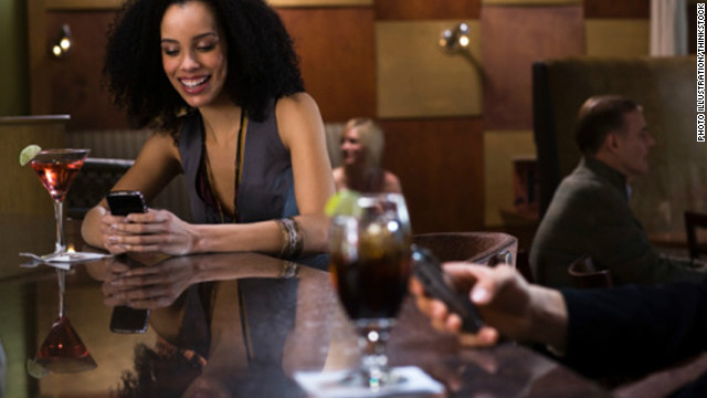 Smartphones and location-based social apps are changing how people date in 2012 (CNN)