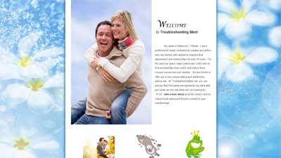 TroubleshootingMen.net home page