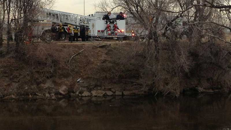 A badly decomposed body was found in the Platte River Wednesday afternoon.