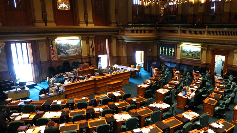 House of Representatives at the Colorado Capitol
