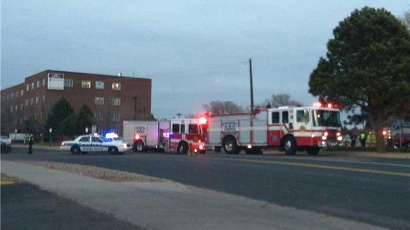 Emergency responders at the scene of a auto-pedestrian crash in Colorado Springs (Photo: FOX21News)