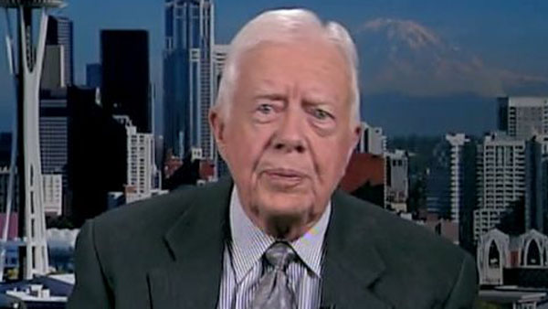 "Jimmy Carter said he ""did his best"" after losing the Presidential election in 1980, but said his wife Rosalynn ""was pretty bitter."" (Photo: CNN)"