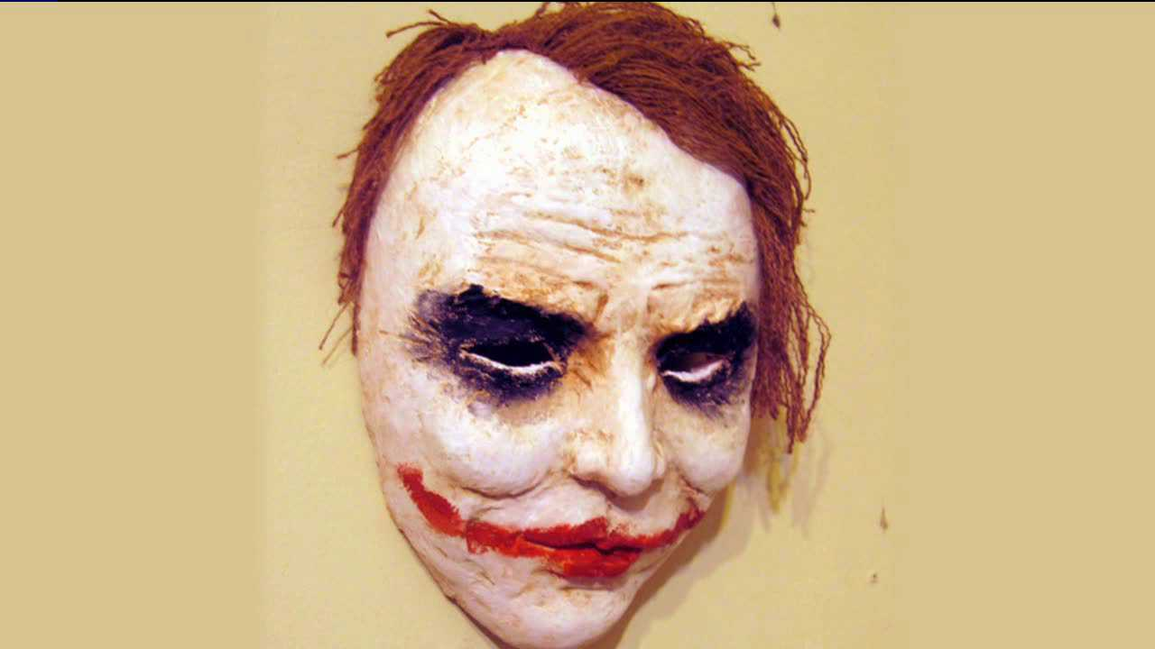 This is the mask that police say a CU student wore into a Boulder theater on Nov. 11, 2012, in an attempt to scare his friends.