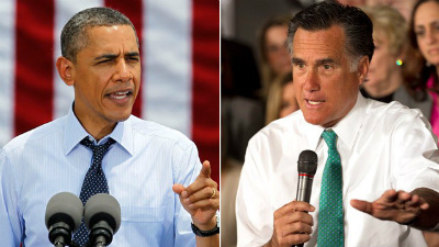 Obama told FOX31 he has prepared two speeches for Election Night. Mitt Romney said he has only prepared a victory speech.