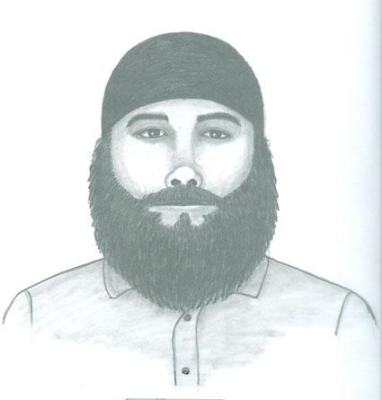 Suspect sketch (Boulder Police Department)