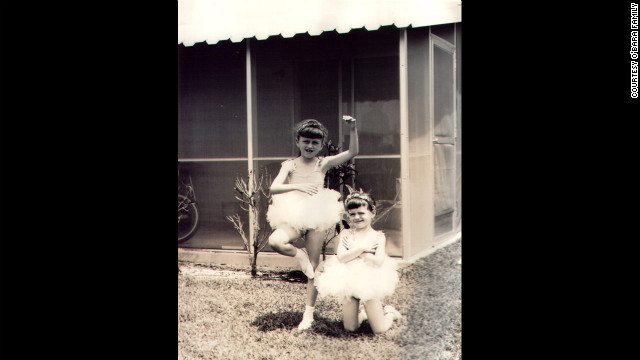 Edwarda and Colleen dressed as ballerinas. Born just 18 months apart, the sisters were inseparable. Edwarda was the studious, obedient, loving child. Colleen was the mischievous tomboy. (CNN)