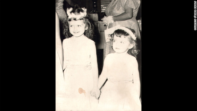 """Edwarda and her younger sister Colleen in 1960 -- nine years before Edwarda would fall into a coma. Her cousin Pam Burdgick went to college in South Florida in the 1960s and remembered Edwarda as """"a sweet, loving child."""" (CNN)"""