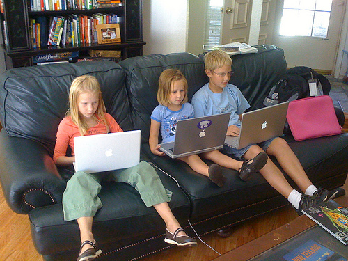 Could your kids go a week without technology? (Photo: CelesteLalonde.com)