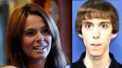 According to his barber, Adam Lanza, right, had his haircut appointments set up by his mother, Nancy Lanzy, left, and that the teen rarely spoke. His mother did the talking for him, the barber said. (Photo: CNN)